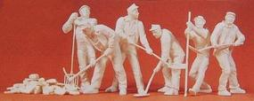 Preiser Workers 1939-45 Model Railroad Figures 1/35 Scale #64010