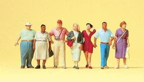 Preiser Passers-By Model Railroad Figures O Scale #65354