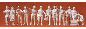 Preiser Kg WWII US Air Force/Army Air Corps 1942-45 -- Model Railroad Figures -- 1/72 Scale -- #72502