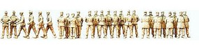 Preiser German Army Soldiers on Parade Ground (26) 1/72 Scale Model Figures #72535