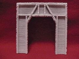 Pre-Size Single Timber Tunnel Portal HO Scale Model Railroad Tunnel #101