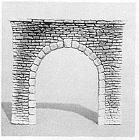 Pre-Size Single Random Stone Tunnel Portal HO Scale Model Railroad Tunnel #103