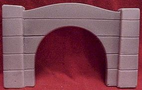 Pre-Size Modern Concrete Auto Portals HO Scale Model Railroad Tunnel #180