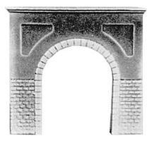 Pre-Size Single Cut Stone Tunnel Portal N Scale Model Railroad Tunnel #205