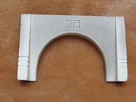 Pre-Size Concrete Mine Tunnel Portal Model Railroad Tunnel #581