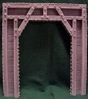 Pre-Size Timber Tunnel Portal G Scale Model Railroad Tunnel #801