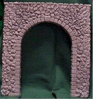 Pre-Size Random Stone Tunnel Portal G Scale Model Railroad Tunnel #805