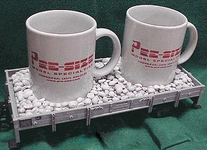 Pre-Size Model Specialities Coffee Bean Cup Holder - G-Scale