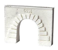 Pre-Size Concrete Tunnel Portal Z Scale Model Railroad Tunnel #902