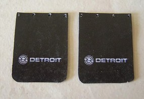 Plastic-Dreams 1/25 Detroit Diesel Truck Mud Flap Set