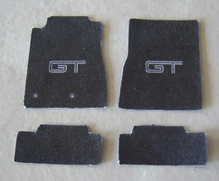Plastic-Dreams 1/25 Mustang GT Car Mat Set