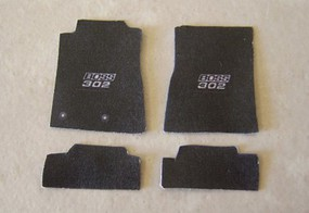 Plastic-Dreams 1/25 Mustang Boss Car Mat Set