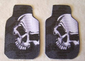 Plastic-Dreams 1/25 Skully Car Mat Set