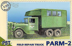 PST Parm 2 Field Repair Truck Plastic Model Military Truck Kit 1/72 Scale #72024