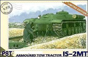 PST IS2MT Soviet Armored Tow Tractor Plastic Model Tank Kit 1/72 Scale #72039