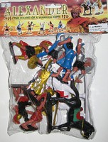 Playsets 1/32 Alexander the Great Warriors Figure Playset (8 w/2 Horses) (Bagged)