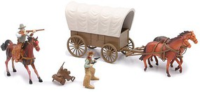 Playsets 1/32 Big Western Covered Wagon Playset (Window-Boxed)