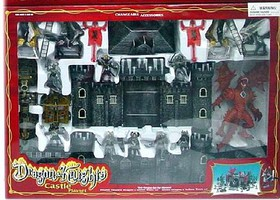 Playsets 1/32 Dragon & Knights Castle Playset (Fort, Dragon, Knights & Acc) (Window Boxed)