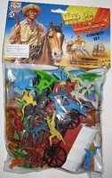Playsets 1/32 Wild West Cowboys Playset (Bagged)