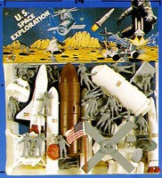 Playsets 1/32 US Space Exploration Giant Playset (36pcs) (Bagged)