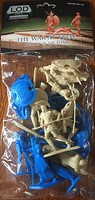 Playsets 1/32 The War at Troy Set #3 Figure Playset- Heroes of the Iliad Greeks & Trojans (12) (Bagged) (LOD Enterprises)