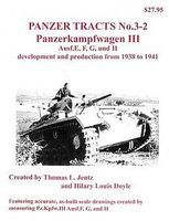 Panzer-Tracts Panzer Tracts No.3-2 PzKpfw III Ausf E/F/G/H Military History Book #32