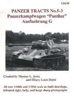 Panzer-Tracts Panzer Tracts No.5-3 PzKpfw Panther Ausf G Military History Book #53
