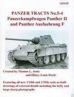 Panzer-Tracts Panzer Tracts No.5-4 PzKpfw Panther II & Panther Ausf F Military History Book #54
