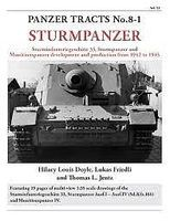 Panzer-Tracts Panzer Tracts No.8-1 Sturmpanzer Military History Book #81