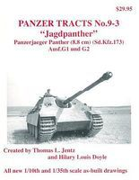 Panzer-Tracts Panzer Tracts No.9-3 Jagdpanther Panzerjaeger Panther Ausf G1/2 Military History Book #93