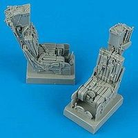 Quickboost F14A Ejection Seats w/Safety Belts (2) Plastic Model Aircraft Accessory 1/32 Scale #32033