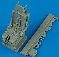 Quickboost F105 Ejection Seat w/Safety Belts Plastic Model Aircraft Accessory 1/32 Scale #32067