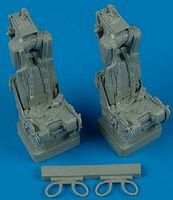 Quickboost F4 II Ejection Seats w/Safety Belts Plastic Model Aircraft Accessory 1/32 Scale #32069