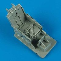 Quickboost F86 Ejection Seat w/Safety Belts Plastic Model Aircraft Accessory 1/32 Scale #32132