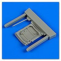 Quickboost Spitfire Mk IX Cockpit Door for Tamiya Plastic Model Aircraft Accessory 1/32 Scale #32152