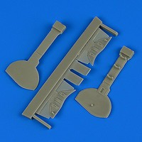 Quickboost 1/32 A6M5c Zero Type 52 Undercarriage Covers for HSG