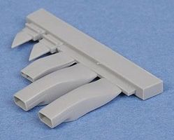 Quickboost F101 Air Scoops for Revell Monogram Plastic Model Aircraft Accessory 1/48 Scale #48235