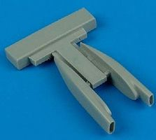 Quickboost F105 Air Scoops for Trumpeter Plastic Model Aircraft Accessory 1/48 Scale #48266