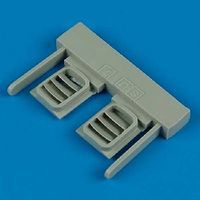 Quickboost Su7BKL Engine Ventilation Louver Plastic Model Aircraft Accessory 1/48 #48330
