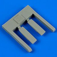 Quickboost T38A Talon Air Scoops for Trumpeter Plastic Model Aircraft Accessory 1/48 Scale #48608