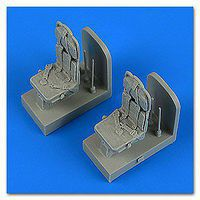 Quickboost SH3H Sea King Seats w/Safety Belts Plastic Model Aircraft Accessory 1/48 #48715