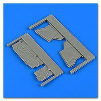 Quickboost Su25K Frogfoot Undercarriage Covers Plastic Model Aircraft Accessory 1/48 #48725