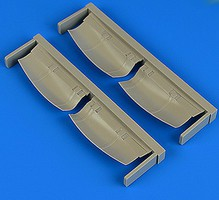 Quickboost 1/48 He111H3 Undercarriage Covers for ICM