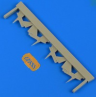 Quickboost 1/48 F14A Tomcat Tail Reinforcement Plates for TAM