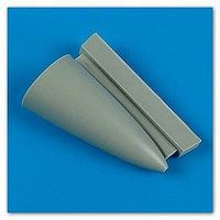 Quickboost F102A Correct Nose for MGK Plastic Model Aircraft Accessory 1/72 Scale #72412