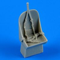 Quickboost Gloster Gladiator Correct Seat for ARX Plastic Model Aircraft Accessory 1/72 Scale #72448