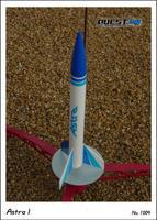 Quest Astra Model Rocket Kit Level 1 Model Rocket Kit #1004