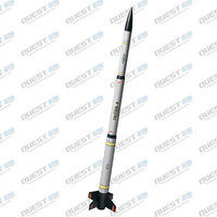 Quest Triton-X Model Rocket Quick Kit Level 1 Model Rocket Kit #1617
