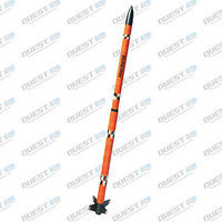 Quest Penetrator Model Rocket Quick Kit Level 1 Model Rocket Kit #1618