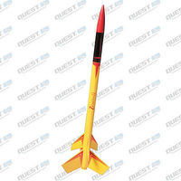 Quest Zenith II Model Rocket Kit Level 3 Model Rocket Kit #3005